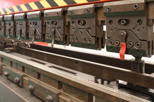 Industrial metal folding Machine