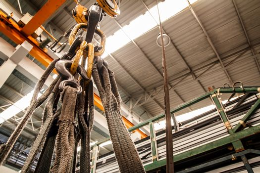 Webbing slings, lifting accessories