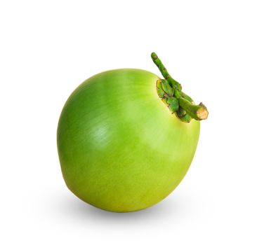Fruit, green coconuts