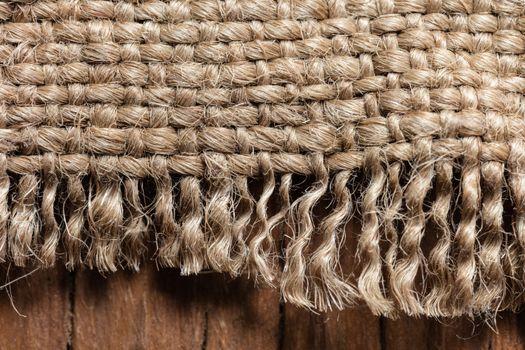 old cloth closeup