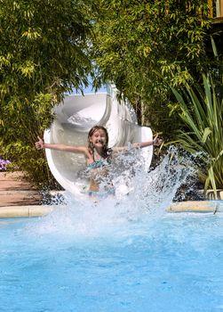 Have fun in aqua park
