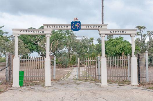 Queen Elizabeth II coronation gates