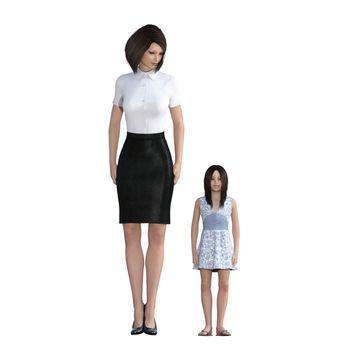 Mother Daughter Interaction of Teaching Discipline