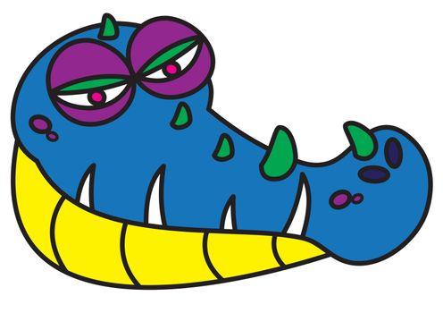 ugly alligator monster