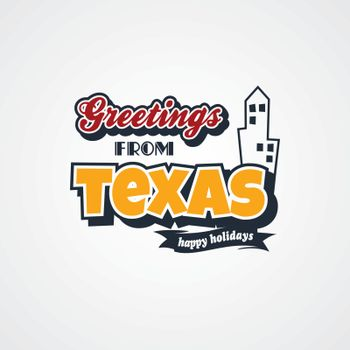texas vacation greetings theme