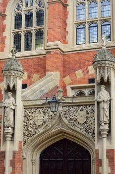 Detail of Entrance  Cambridge College