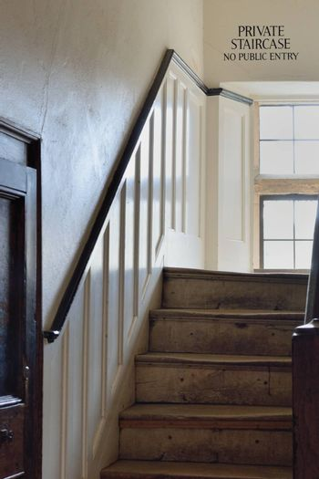 Old Vintage Wooden Staircase