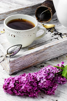Brewed herbal tea