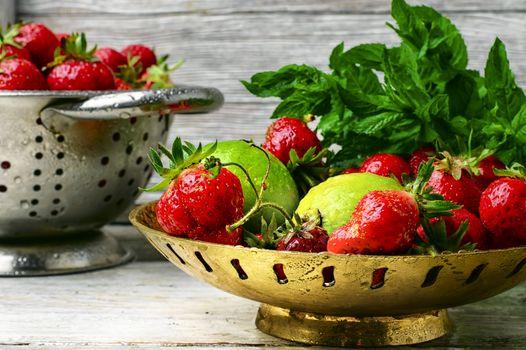Seasonal summer berries