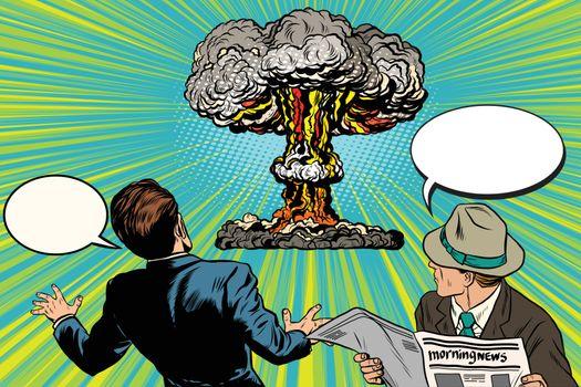 The beginning of a nuclear war