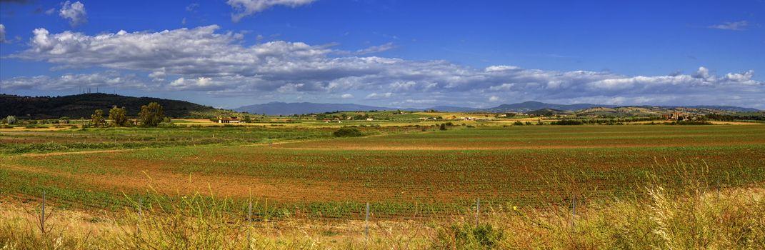 Toscana landscape, Italy