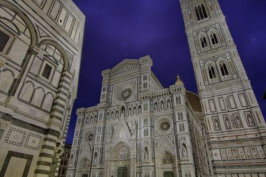 The Basilica di Santa Maria del Fiore in Florence, Italy, hdr