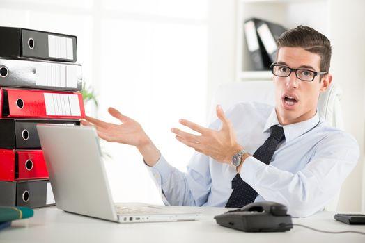 Worried Businessman