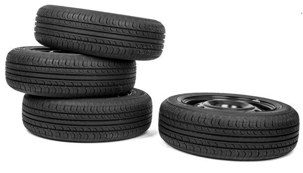 Automobile wheels with discs