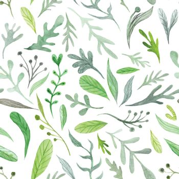 Watercolor Eco Pattern