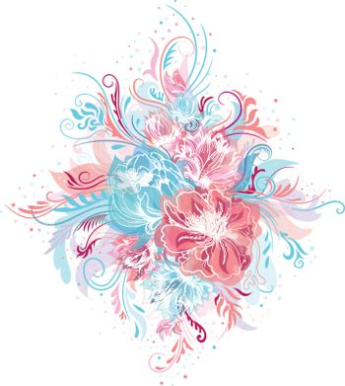 Tender Vector Floral Bouquet