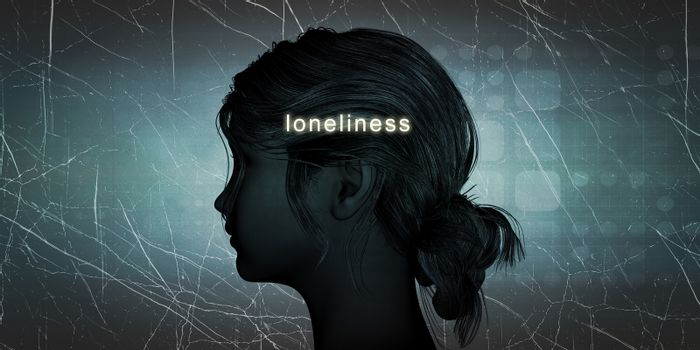 Woman Facing Loneliness
