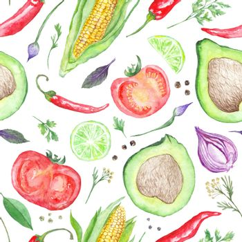 Vegetarian Vegetable Pattern