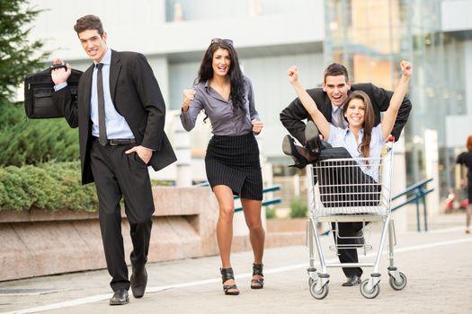 Shopping Race