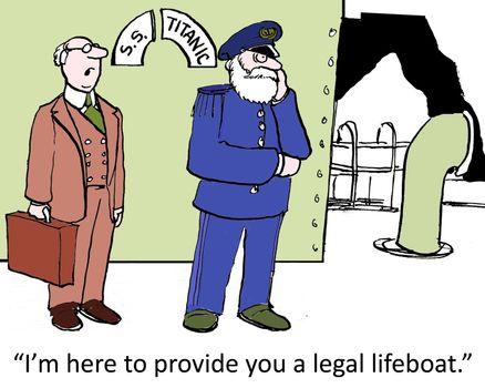 Legal lifeboat