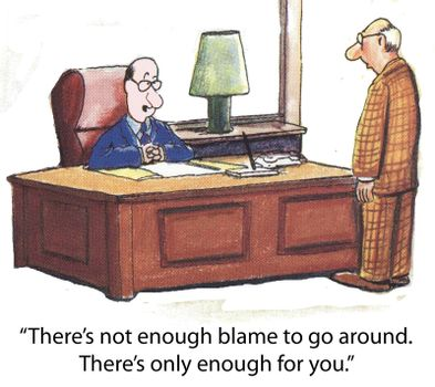 Not enough blame
