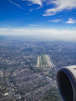 Bangkok from the air