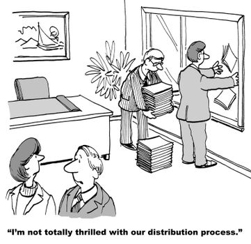 """""""Our distribution seems kind of loose."""""""