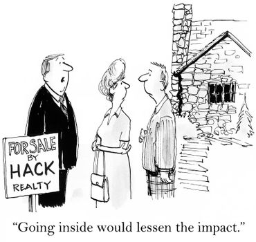 """""""Going inside would only lessen the impact."""""""