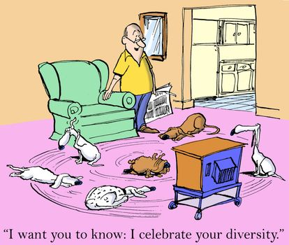 """""""I want you to know I celebrate your diversity."""""""