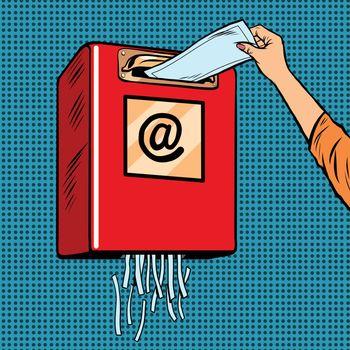 Spam trash junk email