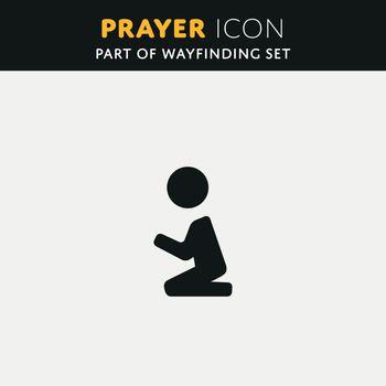 Vector pray Icon