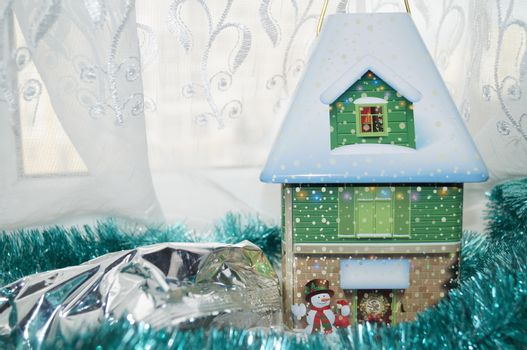 candy winter house