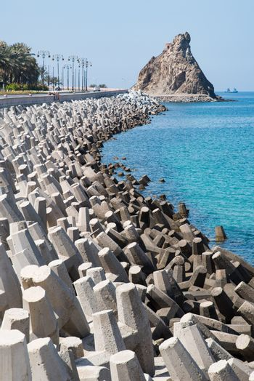 Erosion control with concrete blocks