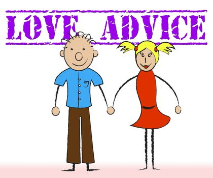 Love Advice Means Lover Information And Fondness