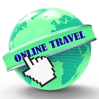 Online Travel Indicating Web Site And Vacational
