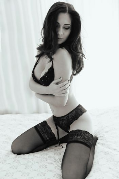 Erotic woman portrait