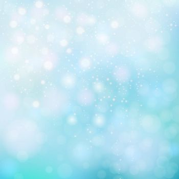 Abstract background bokeh. Bokeh lights. Blue background bokeh. Bokeh abstract. Pattern for design of invitations, presentations and websites. Vector illustration.