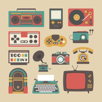 old gadget icon