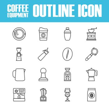 outline coffee icon