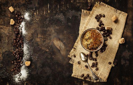 Coffe composition