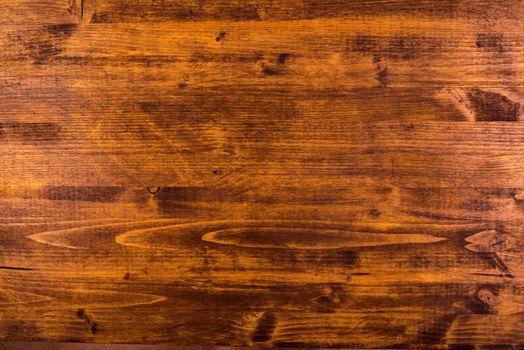 Brown hardwood board surface