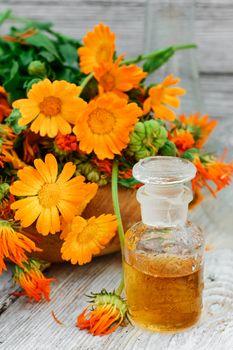 mixture of marigold