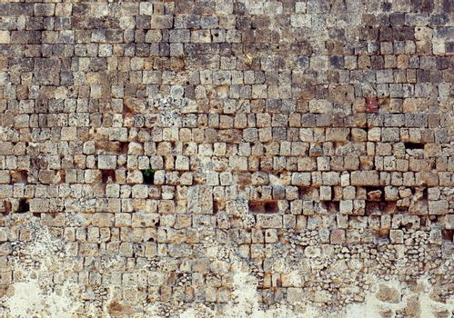Background of old stone wall texture photo