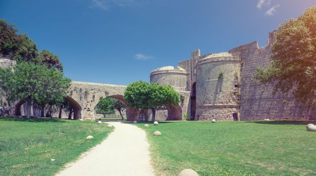 Fortifications of the Old Town of Rhodes, Greece