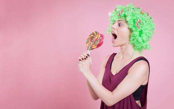 I want candies
