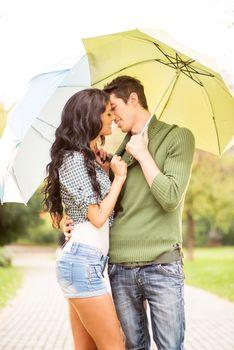 Kiss Under The Umbrella