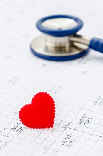Healthcare, cardiology and mediacal concept