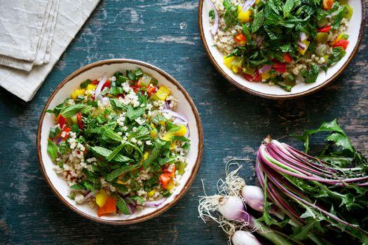 Vegetarian Bulgur Salad