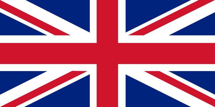 An illustration of the United Kingdom flag, 'Union Jack'