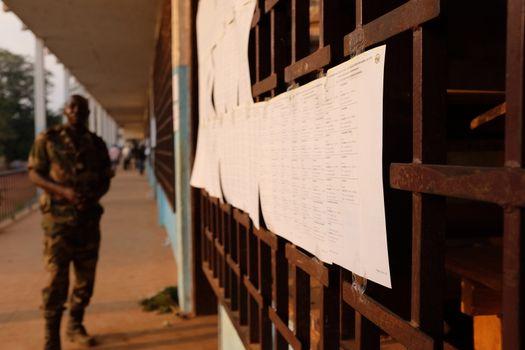 CAFRICA - POLITICS - VOTE - UNREST